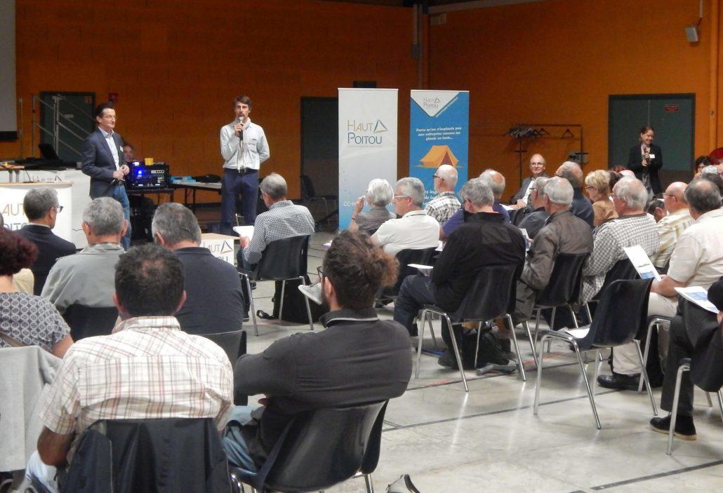 Forum Projet de Territoire 4 juin 2019 (Espace Jean Dousset - Neuville-de-Poitou)